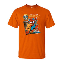 Load image into Gallery viewer, Funny Spider-Cat T-Shirt