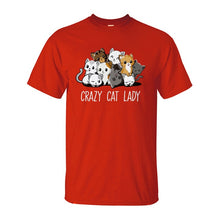 Load image into Gallery viewer, Crazy Cat Lady T-Shirt
