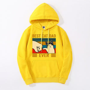 """Best Cat Dad Ever"" Hoodie"