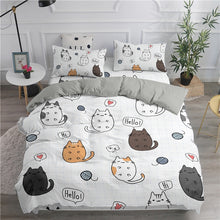 Load image into Gallery viewer, Cute Cats Bedding Set
