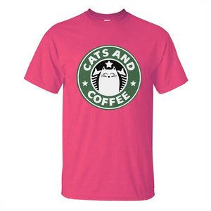 Cats And Coffee T-Shirt