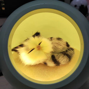 Sleepy Cat Night Lamp