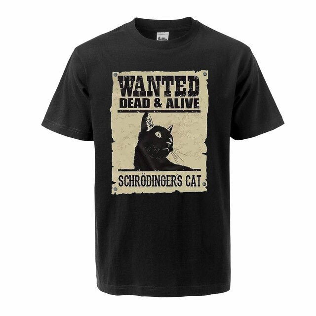 Wanted Cat T-Shirt