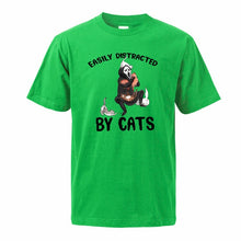 "Load image into Gallery viewer, ""Ealisy Distracted By Cats"" T-Shirt"