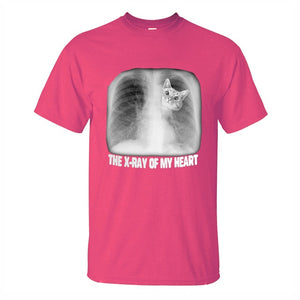 """The X-Ray Of My Heart"" Cat T-Shirt"