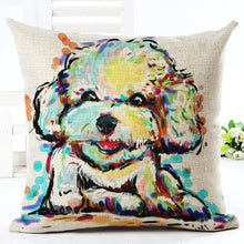 Load image into Gallery viewer, Adorable Puppy Pillow Case