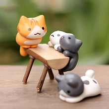 Load image into Gallery viewer, 6 pcs Miniature Cat Garden Decorations