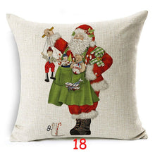 Load image into Gallery viewer, Christmas Dog Pillow Case