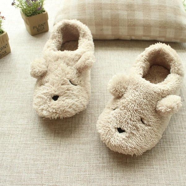 Dog Soft Plush Slippers