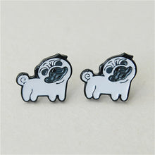 Load image into Gallery viewer, Adorable Dogs Stud Earrings
