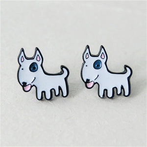 Adorable Dogs Stud Earrings
