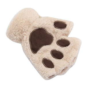 Cute Cat Paw Gloves