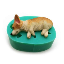 Load image into Gallery viewer, Dogs Shape Silicone Cake Mold