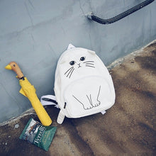 Load image into Gallery viewer, Cartoon Cat Backpack