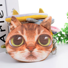 Load image into Gallery viewer, 3D Cat Purse