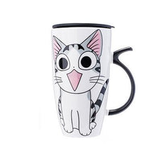 Load image into Gallery viewer, Cat Coffee Mug (ALL 4 FOR $72 USD)