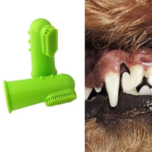 Finger Toothbrush for pets