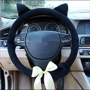 Cat Steering Wheel Cover