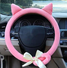 Load image into Gallery viewer, Cat Steering Wheel Cover