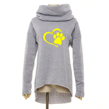 Load image into Gallery viewer, Cat Dog Paw Hoodie