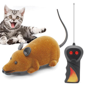 Mouse Remote Control Cat Toy