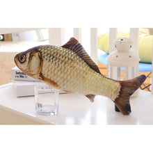 Load image into Gallery viewer, 3D Fish Cat Toy