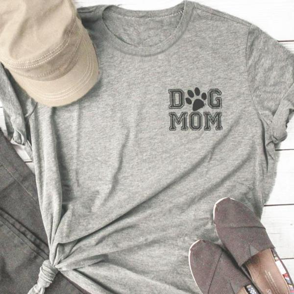 Adorable Dog Mom T-shirt