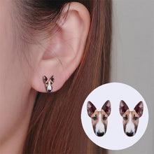 Load image into Gallery viewer, Bull Terrier Stud Earrings