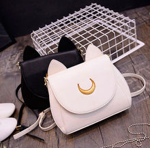 Load image into Gallery viewer, Cute Cat Ears Bag