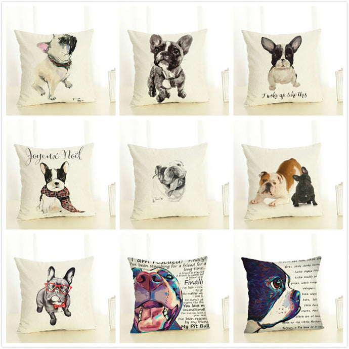 Cute Dog Pillow Case