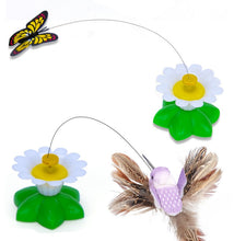 Load image into Gallery viewer, Spinning Butterfly/Bird Cat Toy