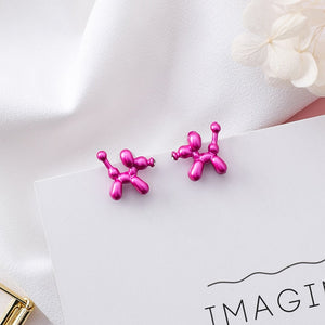 Colorful Balloon DogEarrings