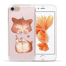 Load image into Gallery viewer, Cute Pug dog iPhone Case