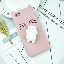 Load image into Gallery viewer, Cute Cat Ears iPhone Case