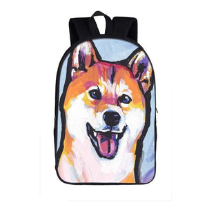 Funny Dog Backpack