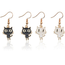 Load image into Gallery viewer, Cartoon Cat Earrings