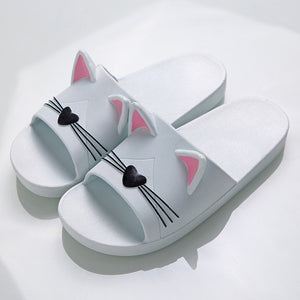 Cute Cat Ears Slippers