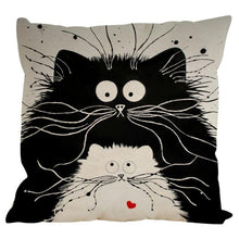 Load image into Gallery viewer, Cute Cat Pillow Case