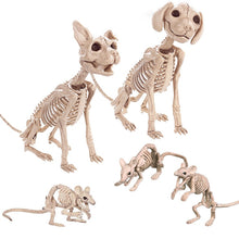 Load image into Gallery viewer, Halloween Decoration Animals Skeleton