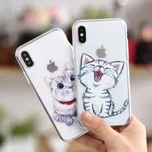 Load image into Gallery viewer, Cute Cat iPhone Case