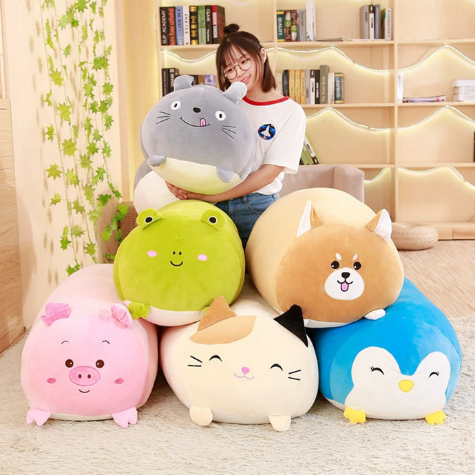 Squishy Cat Plush Pillow