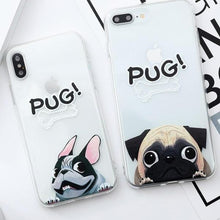Load image into Gallery viewer, Pug Dog iPhone Case