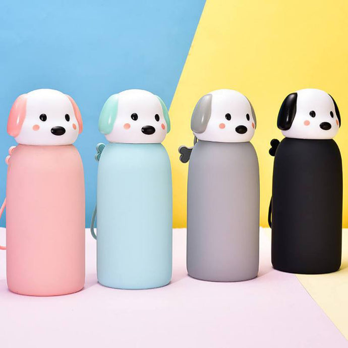 Cute Cartoon Dog Thermos