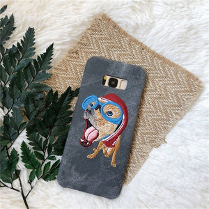 Cute Dog Samsung Case