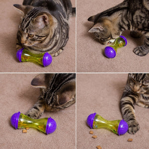 Cat Dog Food Dispenser Toy