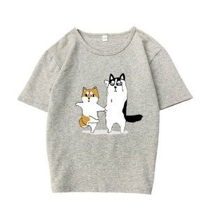 Cartoon Dog T-shirt