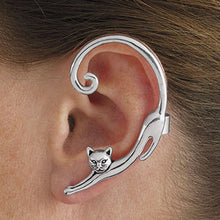 Load image into Gallery viewer, Single Piece Cat Earring