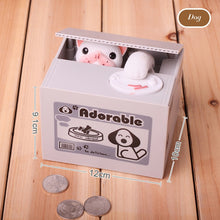 Load image into Gallery viewer, Cute Cat Piggy Bank Coin