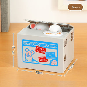 Cute Cat Piggy Bank Coin