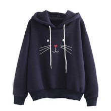 Load image into Gallery viewer, Cute Cat Hoodie